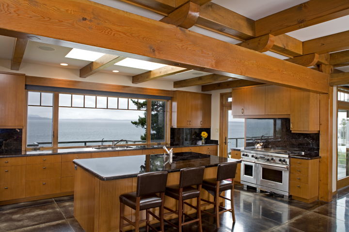 Large Bellingham Modern Home - Kitchen Interior