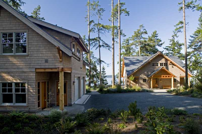 Modern Summer Home - Timber Frame Construction