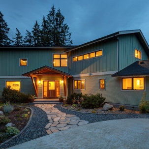 Extensive Remodel of a home in Whatcom County, Washington