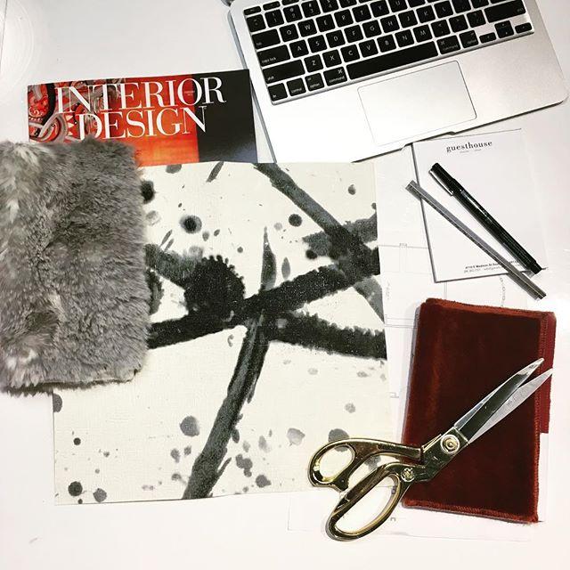 Studio refresh inspiration. #guesthouseseattle #interiordesign #pierrefrey #designstudio #inspiration