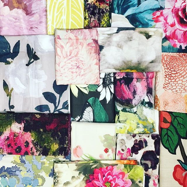 Time to spring forward! #florals #patterns #spring #inspiration #guesthouseseattle #fabricfeels