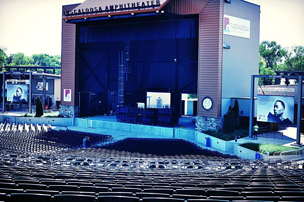 LED Panels at the Tuscaloosa Amphitheater