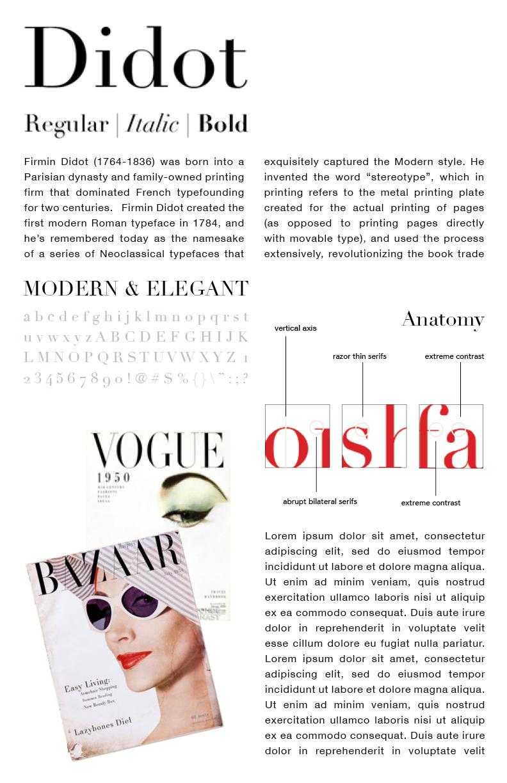Typography Study -