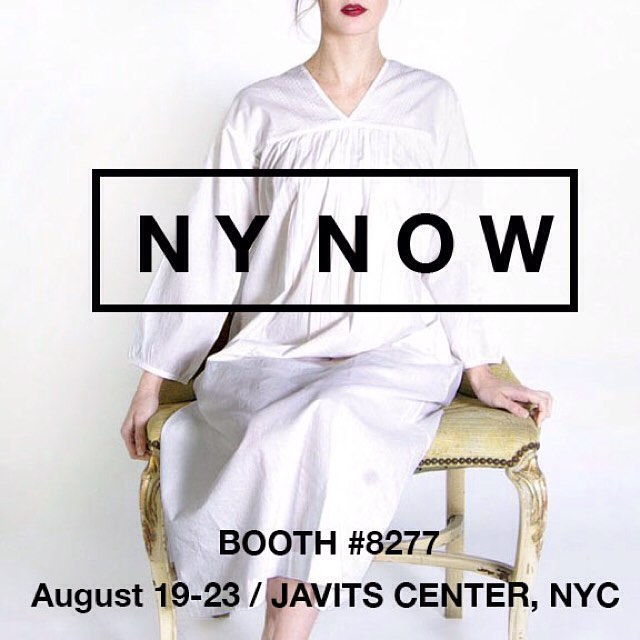4 days left until #nynow summer market! We hope to see you at Domi booth 8277! #handmade #lifestyle