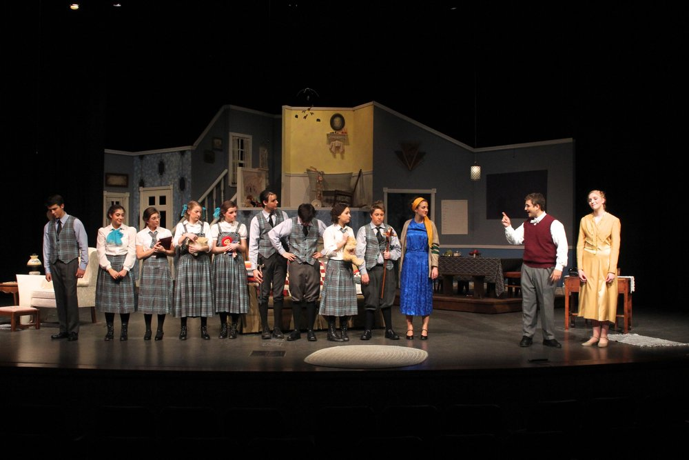 Cheaper By the Dozen, Forest Hills Eastern High School
