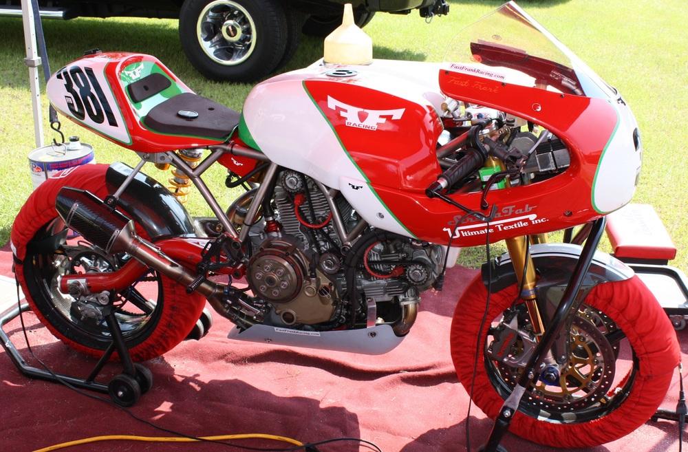 Fast Frank Racing - Titanium Ducati SportClassic frame