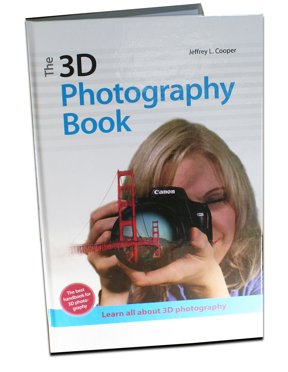 The 3D Photography Book has a litho or printed 4-C cover with glossy film lamination
