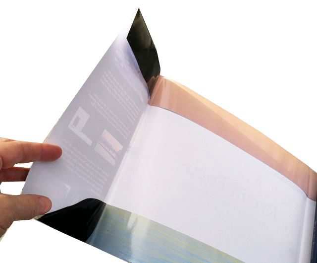 French fold dust jacket has a folded top and bottom edge.This keeps the dust jacket from tearing along the top and bottom edges.