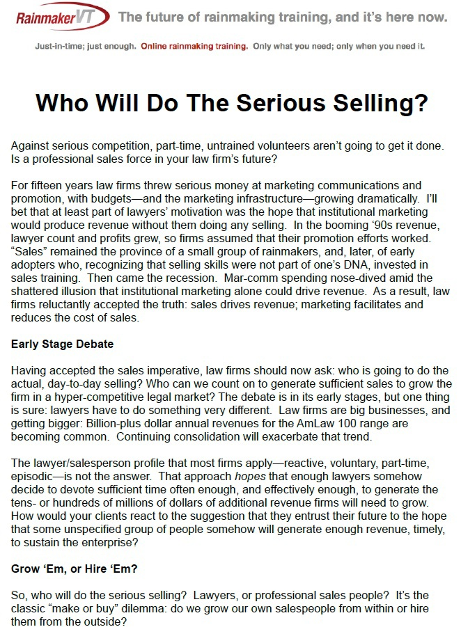 Who Will Do The Serious Selling pg01.jpeg