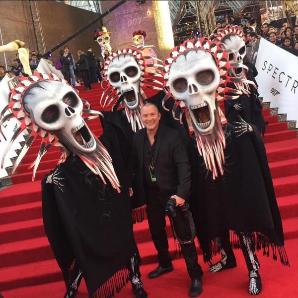 """""""Spectre"""" Film Premiere in Mexico City. Photo by Anthony Warnke"""