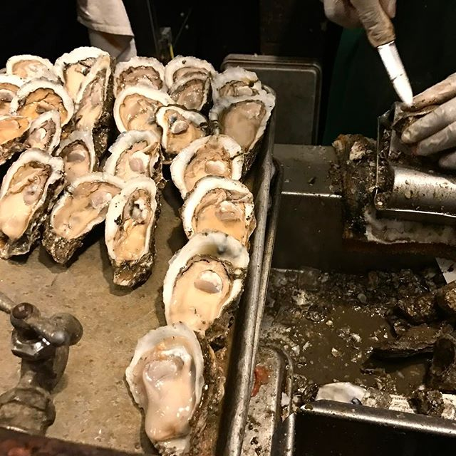 OOOMMMGGG. Soooo legit. Sit at the bar in front of the oyster shuckers. They are riot while cracking open colossal oysters. #neworleans #frenchquarter
