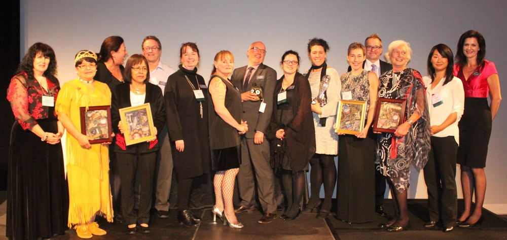 2015 Award Recipients with BCMA staff and council