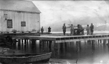 NORTH PACIFIC CANNERY IMAGE: CITY OF VANCOUVER ARCHIVES