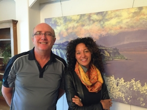 ERIC HANSTON AND VAELEI WALKDEN-BROWN IMAGE: PENTICTON ARTS COUNCIL