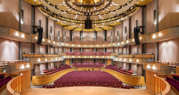 CHAN CENTRE FOR THE PERFORMING ARTS IMAGE: UBC