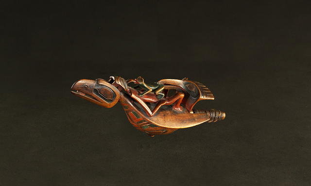 Raven Rattle | Tsimshian, c. 1880 | Credit: UBC Museum of Anthropology
