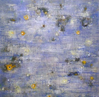 FLOATS , BY PHILIPPE RAPHANEL Acrylic on canvas 66.5 x 67 in. 2012 | IMAGE: EQUINOX GALLERY