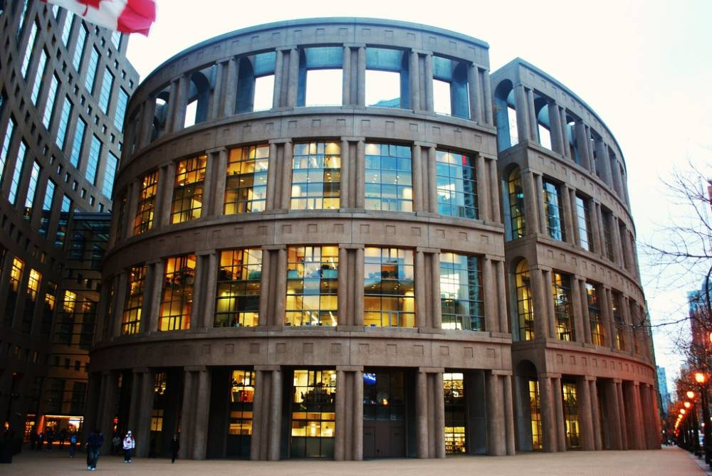 VANCOUVER PUBLIC LIBRARY CENTRAL BRANCH | IMAGE: THE GEORGIA STRAIGHT