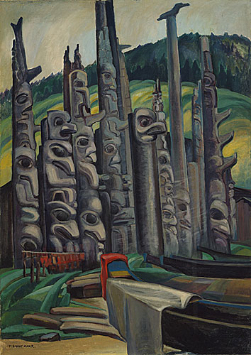 Totem Forest, by Emily Carr.