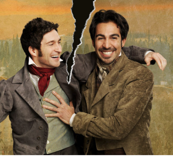 Charlie Gallant and Nadeem Phillip star in The Two Gentlemen of Verona.