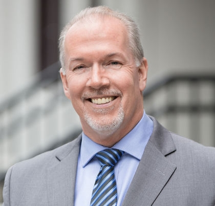 NDP Leader John Horgan is B.C.'s new Premieir.