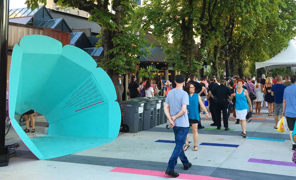 Jim Deva Plaza in Downtown Vancouver | Image: City of Vancouver