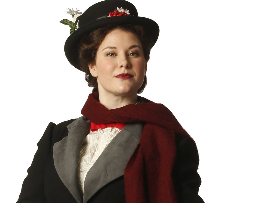 Ranae Miller stars as magical nanny Mary Poppins. | Image: Tim Matheson