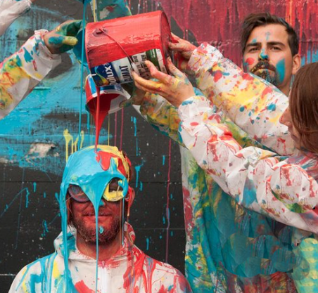 Dress to impress while making a mess at Vancouver Mural Festival. | Image: VMF