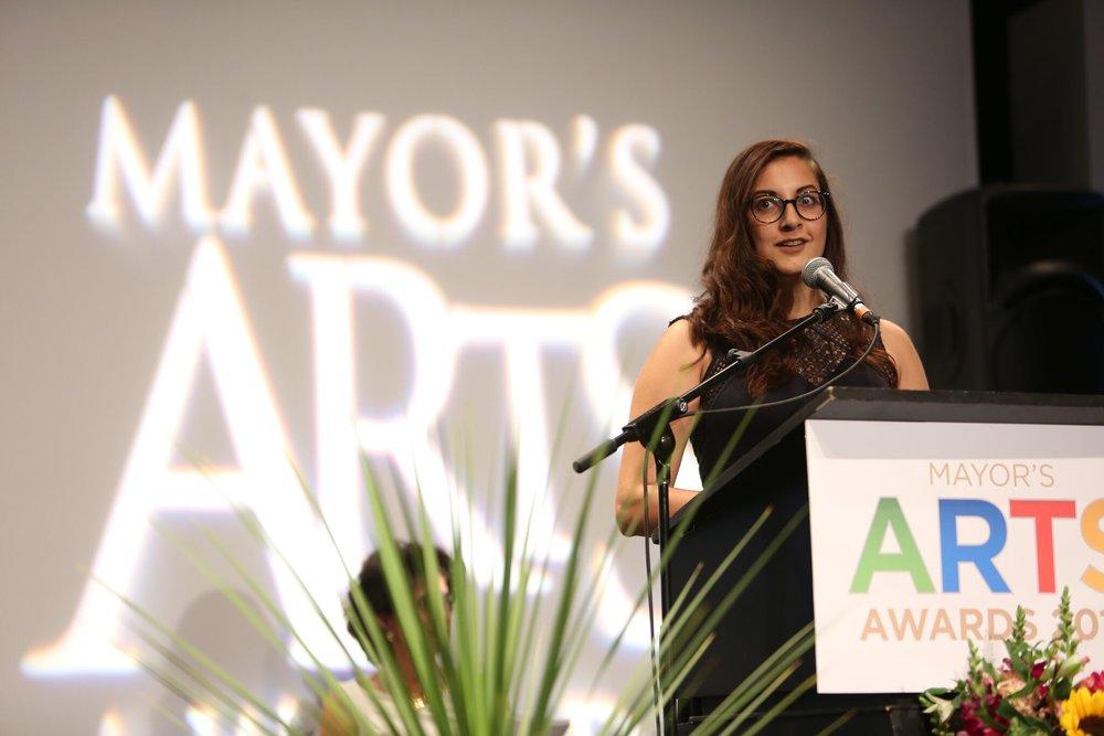 Anaïsa Visser was chosen as emerging artist in Film & New Media. | Image: Sarah Race.