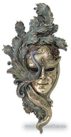Orrnate masquerade mask | Image: Tentacle Studio/Pinterest.