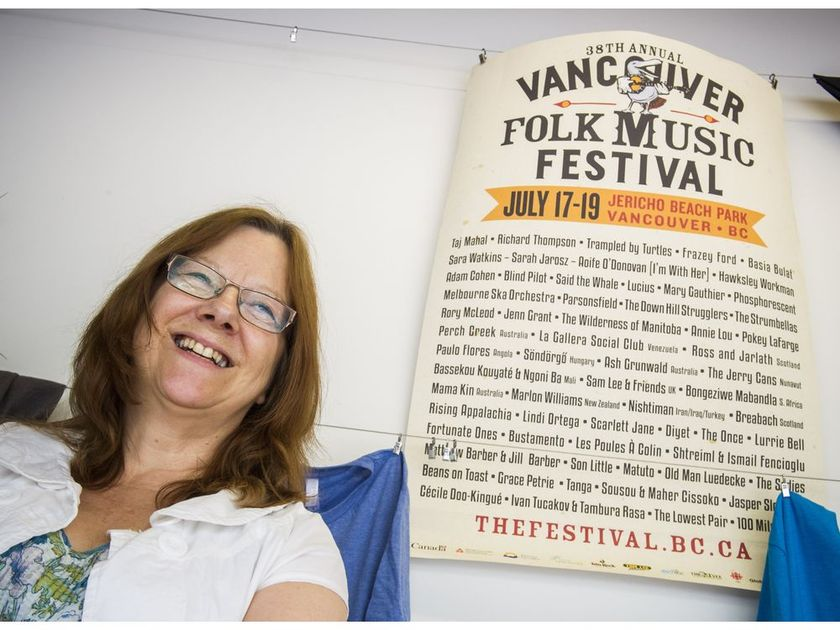 Linda Tanaka. | Image: Ric Ernst / Vancouver Sun.