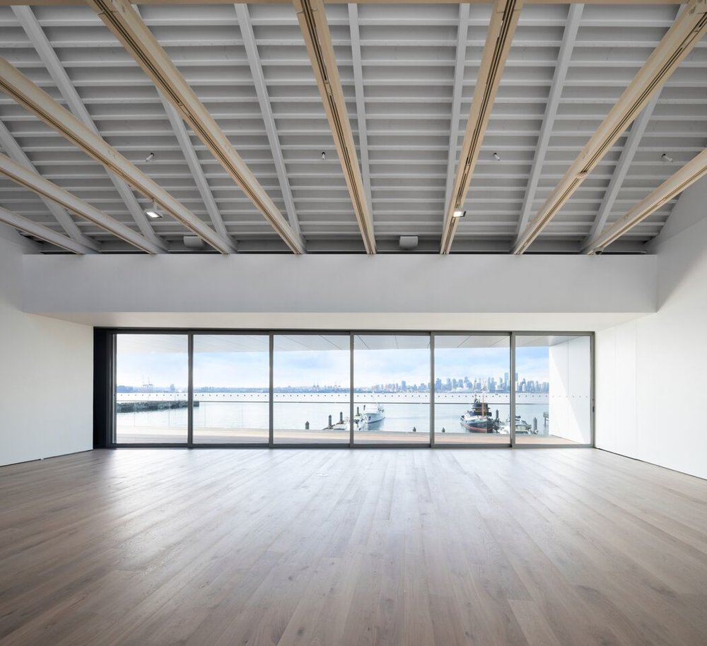 A second-floor space inside Polygon Gallery. | Image: Ema Peter Photography.