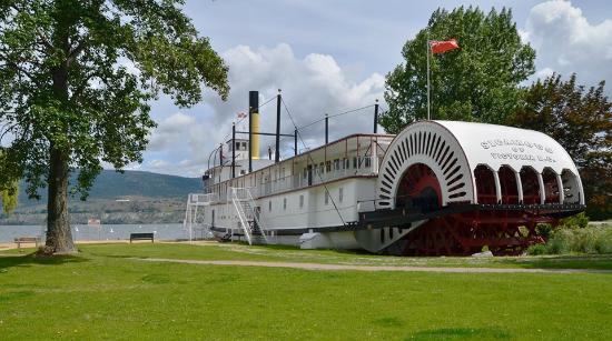 SS Sicamous Museum and Heritage Park.