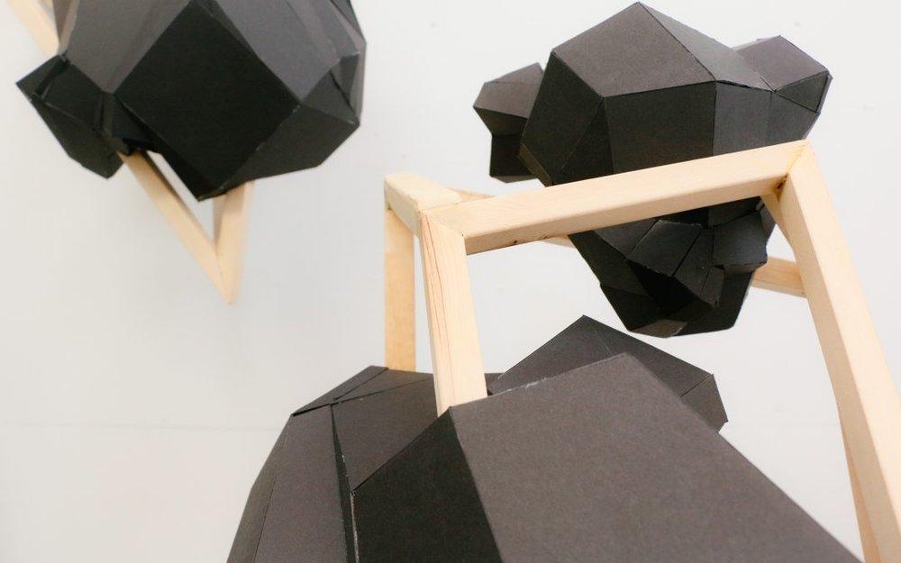 meatspace sculpture by Brendan Lee Satish Tang. | Image: BAF.