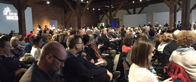 The full house at Creative City Strategy launch.