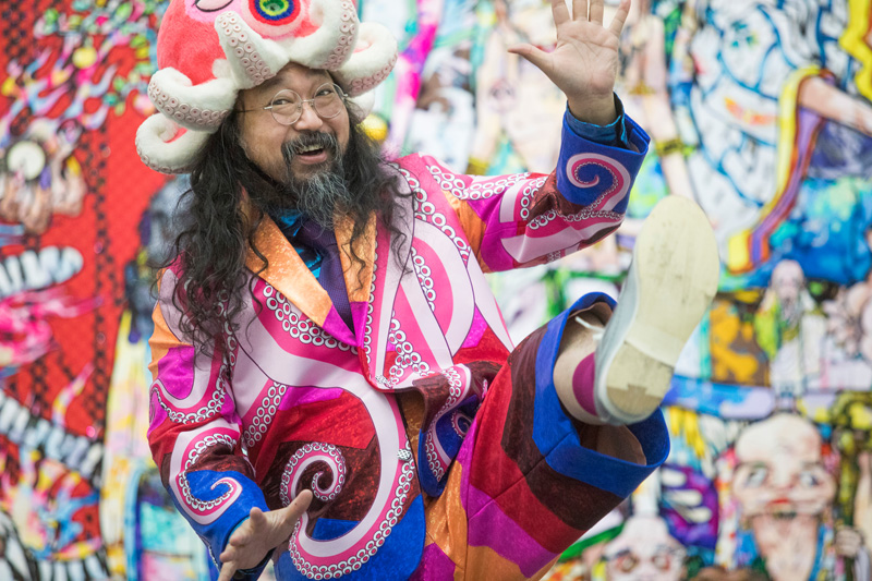 "The ""Andy Warhol of Japan"" Takashi Murakami. 