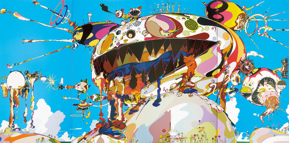 Murakami-04,Takashi Murakami,Tan Tan Bo Puking - a.k.a. Gero Tan, 2002