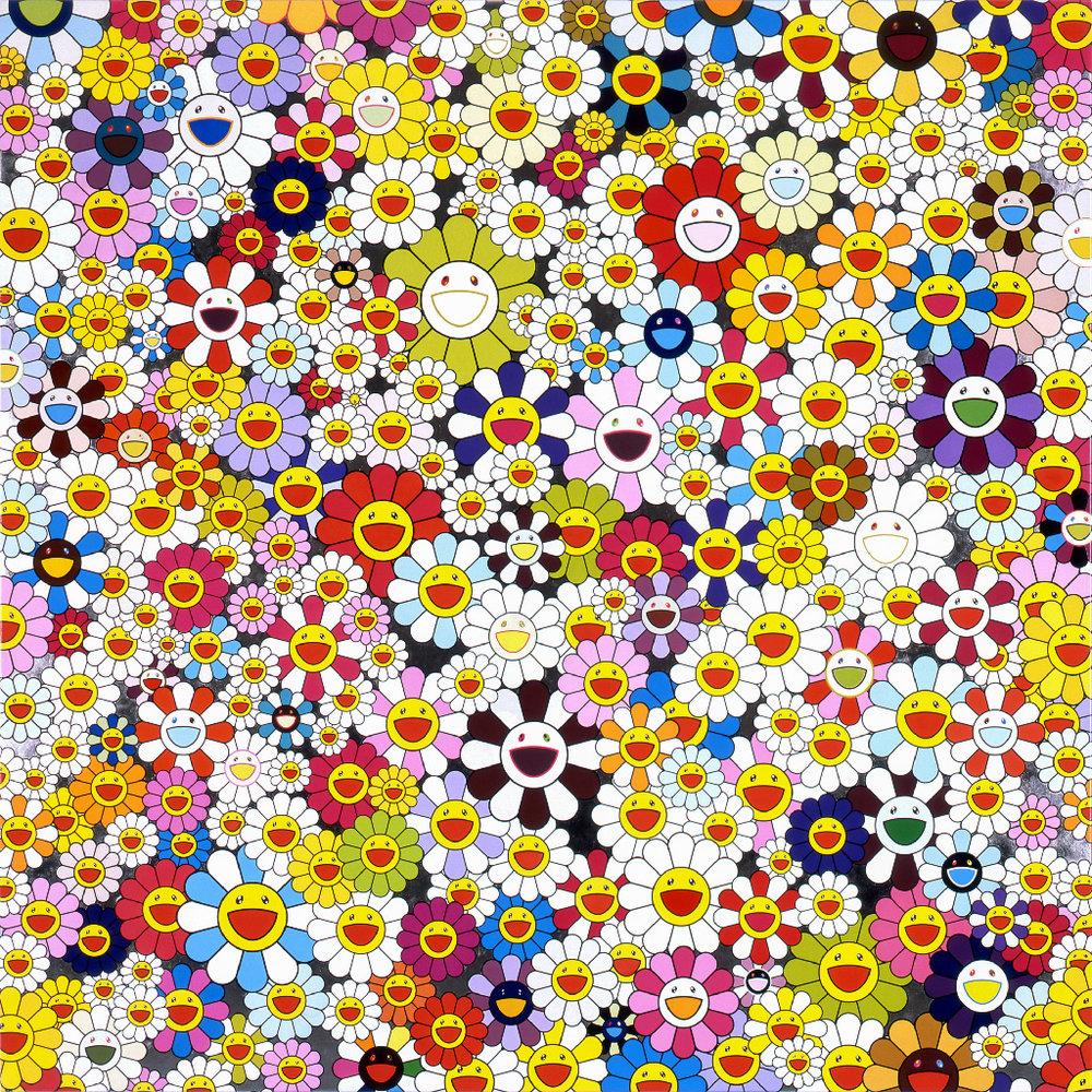 Murakami-05,Takashi Murakami,Flowers, owers, owers, 2010