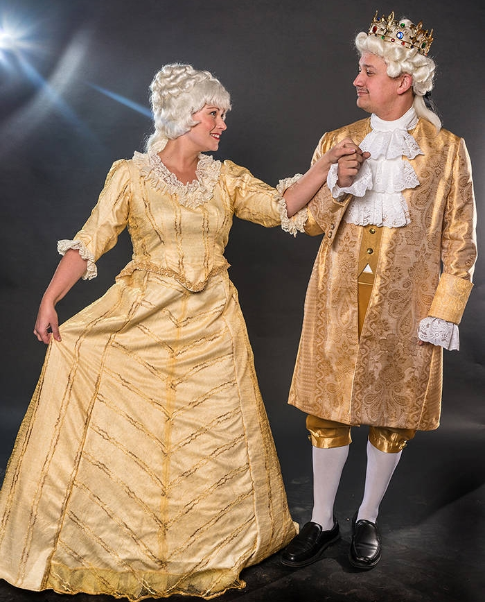Tiffany King and Dann Wilhelm in Fraser Valley Stage's The Gondoliers.