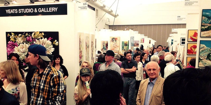 Meet and talk to artists at Art! Vancouver.