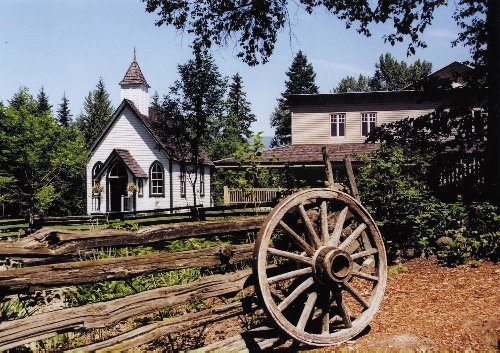 RJ Haney Heritage Village & Museum in Salmon Arm. | Image: Destination BC.