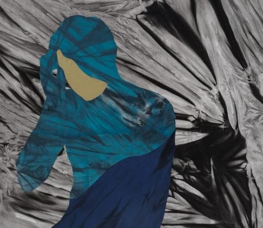 Moozhan Ahmadzadegan's Untitled Portrait is part of  Emergence  at the Vernon Public Art Gallery. | Image: Vernon Public Art Gallery.