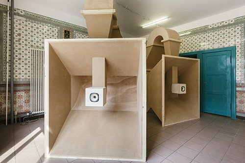 Kevin Schmidt's  DIY HiFI . | Image: Kevin Schmidt and Catriona Jeffries.