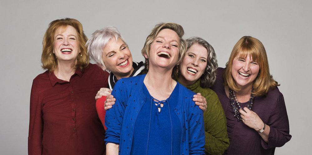 Barbara Pollard, Jill Daum, Robin Nichol, Alison Kelly & Deborah Williams. | Image:Emily Cooper.