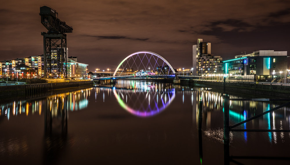 The Clyde Arch in Glasgow, Scotland. | Image: Giuseppe Milo via VisualHunt.