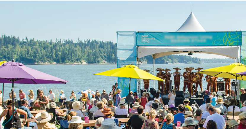 The Harmony Arts Festival Takes over West Vancouver's waterfront, August 3-12. | Image: Harmony Arts Festival.