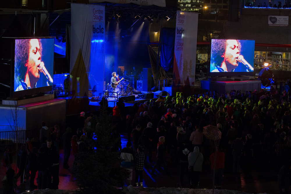 Alex Cuba plays at the Coldsnap Festival, one of 24 funded events. | Image: Move Up Prince George.