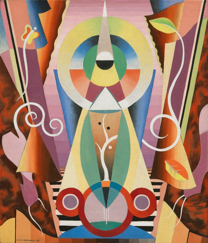 Jock MacDonald, Fall (Modality 16), 1937 | Vancouver Art Gallery
