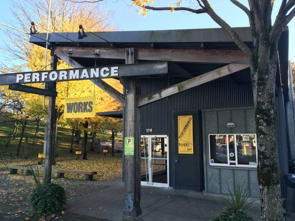 Performance Works. | Image: Granville Island Cultural Society.