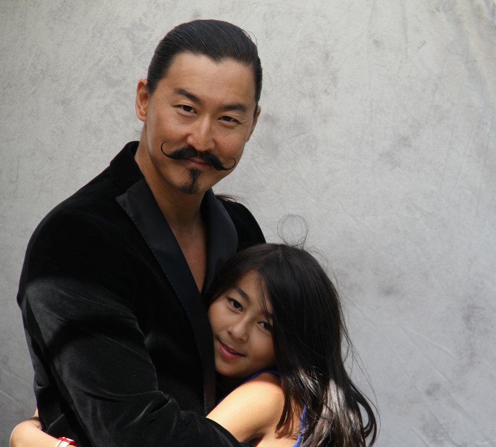 Tetsuro Shigematsu and daughter Miko, | Image: Bahareh Shigematsu.